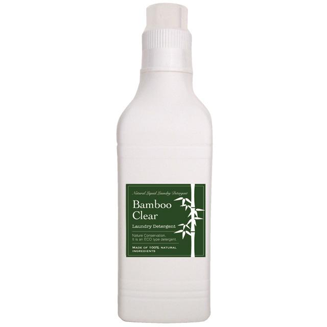 ヒバの香りが苦手な方は、竹の洗剤バンブークリア