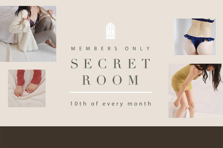 【LINE限定11月のSECRET ROOM】フレアショーツ2枚・3枚セット、OUTLETマーメイドブラジャーが登場!